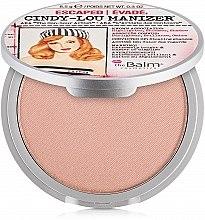 Parfémy, Parfumerie, kosmetika Rozjasňovač, shimmer a oční stíny - theBalm Cindy-Lou Manizer Highlighter & Shadow