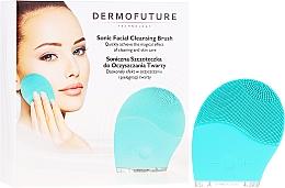 Parfémy, Parfumerie, kosmetika Kartáček na čištění pleti, modrý - Dermofuture Technology