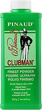 Parfémy, Parfumerie, kosmetika Tělový mastek super jemný bílý - Clubman Pinaud Finest Talc Ultra-Fin