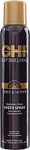 Parfémy, Parfumerie, kosmetika Sprej-lesk na vlasy - CHI Deep Brilliance Olive & Monoi Optimum Shine Sheen Spray