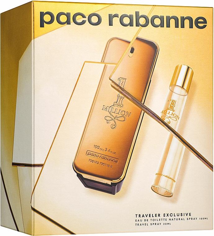 Paco Rabanne 1 Million - Sada (edt/100ml + edt/20ml)