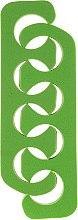 Parfémy, Parfumerie, kosmetika Oddělovač prstů, separátor 7583, zelený - Top Choice