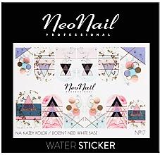 Parfémy, Parfumerie, kosmetika Nálepky na nehty - NeoNail Professional Water Sticker