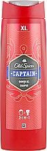 Parfémy, Parfumerie, kosmetika Sprchový gel - Old Spice Captain Shower Gel