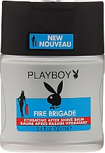 Parfémy, Parfumerie, kosmetika Balzám po holení - Playboy Fire Brigade After Shave Balm
