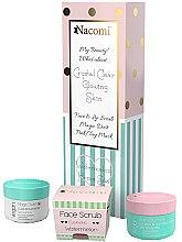 Parfémy, Parfumerie, kosmetika Sada - Nacomi Home Spa (f/mask/50ml + f/lip/scr/80g + f/powder/20g)