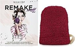 "Parfémy, Parfumerie, kosmetika Odličovací rukavice, bordová ""ReMake"" - MakeUp"