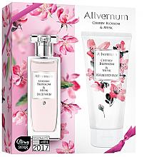 Parfémy, Parfumerie, kosmetika Allvernum Cherry Blossom & Musk - Sada (edp/50ml + b/lot/200ml)