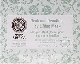 Parfémy, Parfumerie, kosmetika Ledová maska s lifting-efektem pro krk a dekolt Anti-Age - Natura Siberica