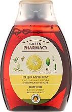 Parfémy, Parfumerie, kosmetika Olej do sprchy a koupele Hřebíček a citron - Green Pharmacy