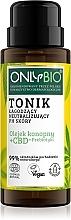 Parfémy, Parfumerie, kosmetika Zklidňující tonikum, udržující přirozené pH pokožky - Only Bio