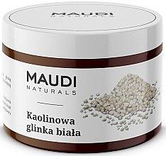 Parfémy, Parfumerie, kosmetika Kaolínová bílá hlína na obličej - Maudi
