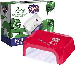 Parfémy, Parfumerie, kosmetika Lampa CCFL+LED, červená - Ronney Profesional Lucy CCFL + LED 38W (GY-LCL-021) Lamp