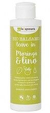 """Parfémy, Parfumerie, kosmetika Nesmyvatelný balzám na vlasy """"Moring and len"""" - La Saponaria Leave-in Conditioner Moringa & Lino"""