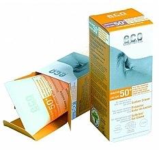 Parfémy, Parfumerie, kosmetika Opalovací krém SPF 50+ s extraktem z granátu a rakytníku - Eco Cosmetics Suntan Cream SPF 50+