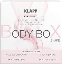 Parfémy, Parfumerie, kosmetika Sada - Klapp Repagen Body Box Shape (peel/200ml + b/lot/200ml)