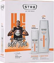 Parfémy, Parfumerie, kosmetika Sada - STR8 Heat Resist & Energy Rush (deo/spray/150ml + sh/gel/400ml)