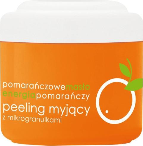"""Tělový peeling s mikrogranulemi """"Pomerančový"""" - Ziaja Body Peeling"""