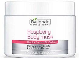 Parfémy, Parfumerie, kosmetika Tělová maska - Bielenda Professional Raspberry With Guarana Bio-Caffeine Body Mask