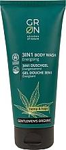Parfémy, Parfumerie, kosmetika Sprchový gel 3v1 - GRN Gentlemen's Organic Hemp & Hop 3-in-1 Body Wash