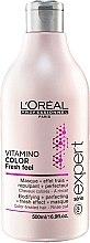 Maska s osvěžujícím účinkem pro ochranu a zachování barvy obarvených vlasů - L'Oreal Professionnel Vitamino Color A-OX — foto N5