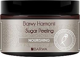 "Parfémy, Parfumerie, kosmetika Cukrový peeling na tělo ""Výživný"" - Barwa Harmony Sugar Peeling Nourihing"