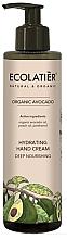 Parfémy, Parfumerie, kosmetika Krém na ruce Intenzivní výživa - Ecolatier Organic Avocado Hydrating Hand Cream