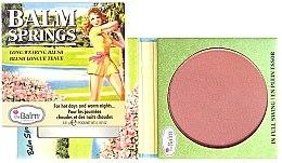 Parfémy, Parfumerie, kosmetika Tvářenka-bronzer - TheBalm Balm Springs Long-Wearing Blush