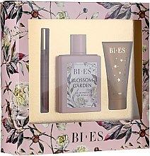 Parfémy, Parfumerie, kosmetika Bi-es Blossom Garden - Sada (edp/100ml + sh/gel50 ml + parfum/12ml)