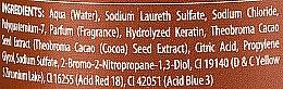 Šampon na vlasy Čokoláda a keratin - Allwaves Chocolate And Ceratine Restructuring Shampoo — foto N3