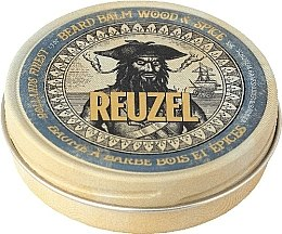 """Parfémy, Parfumerie, kosmetika Balzám na vousy """"Dřevo a koření"""" - Reuzel Beard Balm Wood And Spice"""