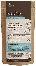 Parfémy, Parfumerie, kosmetika Suchý cédrový peeling se solí pro mastnou a problémovou pleť - Botavikos