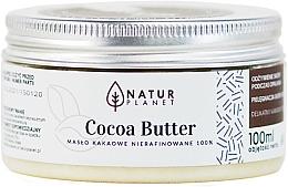 Parfémy, Parfumerie, kosmetika Kakaové máslo nerafinované - Natur Planet Cocoa Butter