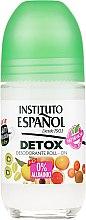 Parfémy, Parfumerie, kosmetika Kuličkový deodorant na tělo - Instituto Espanol Detox Deodorant Roll-on