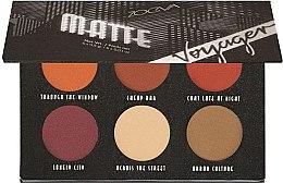 Parfémy, Parfumerie, kosmetika Paleta očních stínů - Zoeva Voyager Matte Eyeshadow Palette