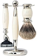 Parfémy, Parfumerie, kosmetika Sada - Taylor of Old Bond Street Mach3 (razor/1szt + sh/brush/1szt + stand/1szt)