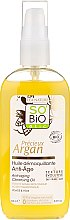 Parfémy, Parfumerie, kosmetika Čisticí olej na odlíčení - So'Bio Etic Precieux Argan Anti-Aging Cleansing Oil