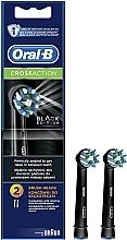 Parfémy, Parfumerie, kosmetika Náhradní hlavice k elektrickému zubnímu kartáčku Cross Action CA EB50 Black Edition - Oral-B
