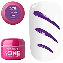 Parfémy, Parfumerie, kosmetika Gel na nehty - Silcare Base One Paint Gel UV Gel Color
