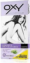 Parfémy, Parfumerie, kosmetika Depilační proužky na tělo - Oxy Body Depilatory Strips