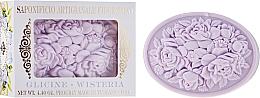 Parfémy, Parfumerie, kosmetika Přírodní mýdlo Vistárie - Saponificio Artigianale Fiorentino Botticelli Wisteria Soap