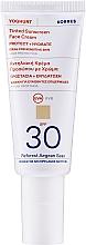 Parfémy, Parfumerie, kosmetika Tónovací opalovací krém na obličej - Korres Yoghurt Tinted Sunscreen Face Cream SPF30