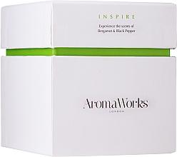 Parfémy, Parfumerie, kosmetika Aromatická svíčka Inspirace - AromaWorks Inspire Candle