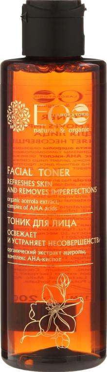 Osvěžující tonikum na obličej na ANA-kyselinách - ECO Laboratorie Facial Toner
