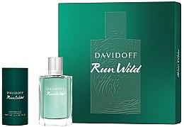 Parfémy, Parfumerie, kosmetika Davidoff Run Wild Men - Sada (edt/100ml + deo/70g)