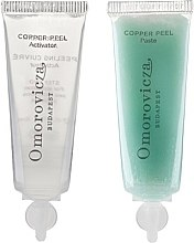 Parfémy, Parfumerie, kosmetika Dvoustupňový peeling s kyselinou mléčnou a mědí - Omorovicza Copper Peel