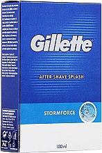 Parfémy, Parfumerie, kosmetika Mléko po holení Pikantné - Gillette Blue Storm Force After Shave Splash