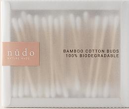 Parfémy, Parfumerie, kosmetika Bambusové vatové tyčinky - Nudo Nature Made Bamboo Cotton Buds