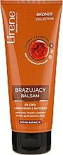 Parfémy, Parfumerie, kosmetika Bronzující mléko na tělo s extraktem jantaru, tmavá barva - Lirene Bronze Collection Bronzing Body Balm