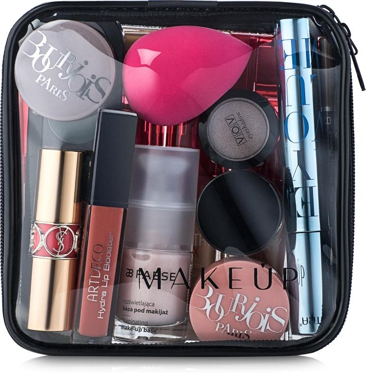 """Transparentní kosmetická taštička """"Visible Bag"""" 15x15x5cm (bez kosmetických prostředků) - MakeUp"""
